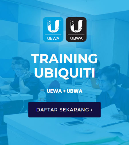 Training Ubiquiti Bersertifikasi